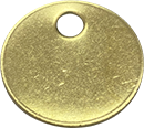 Our Brass Metal Tags are available blank, consecutively numbered or we can make custom tags to suit your needs.