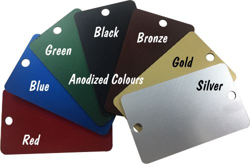 Anodized Aluminum Tags
