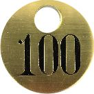 Our Brass Metal Tags are available consecutively numbered or we can make custom tags to suit your needs.