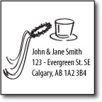 Fun Family Address Stamp